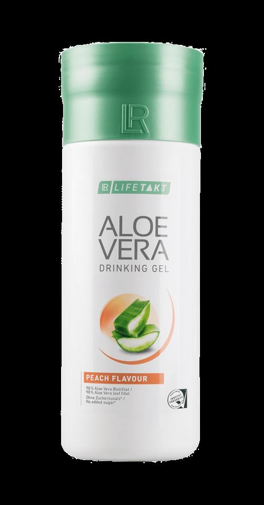 Aloe Vera Drinking Gel med fersken smag